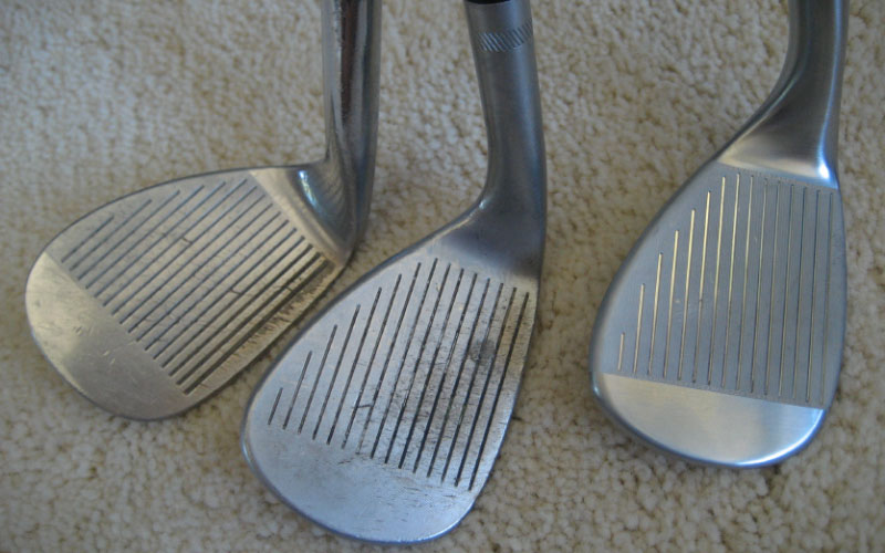 golf iron wear