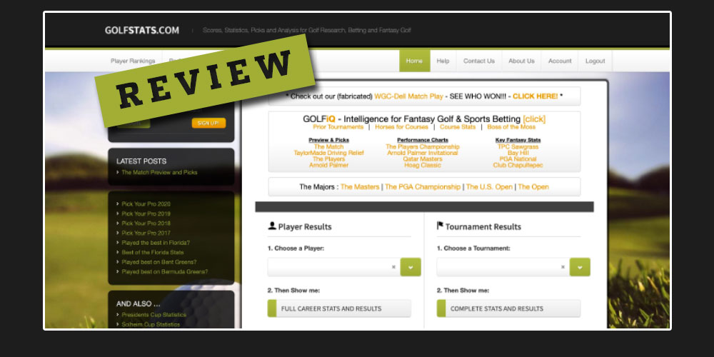 golfstats review