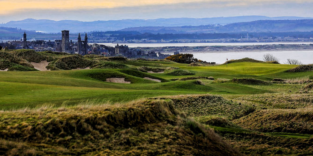 true links golf course