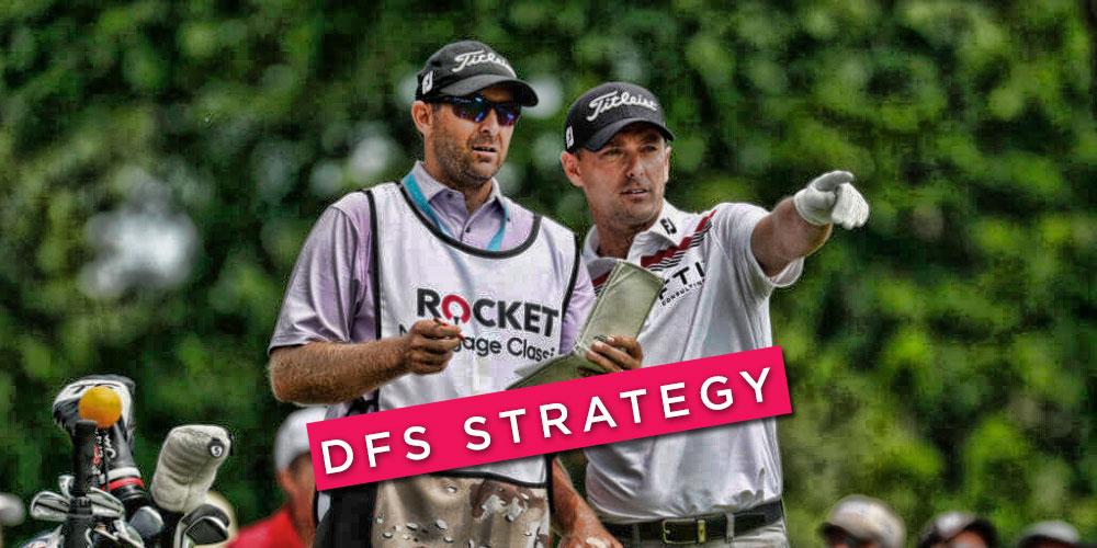 dfs golf strategy