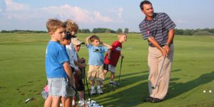 teaching kids golf