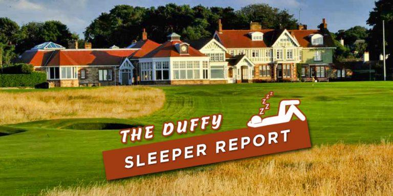 Workday Charity Open Sleeper Picks 2020