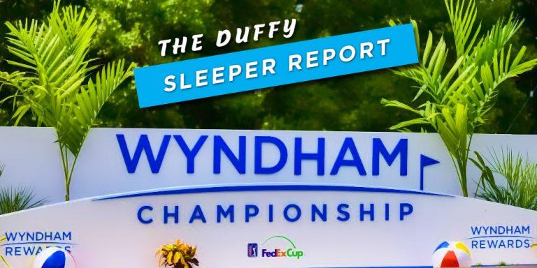 2020 Wyndham Championship Sleeper Picks
