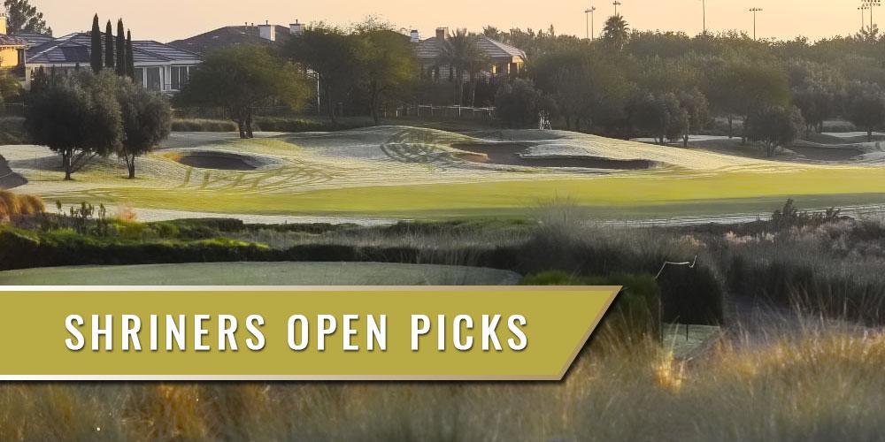 shriners open golf