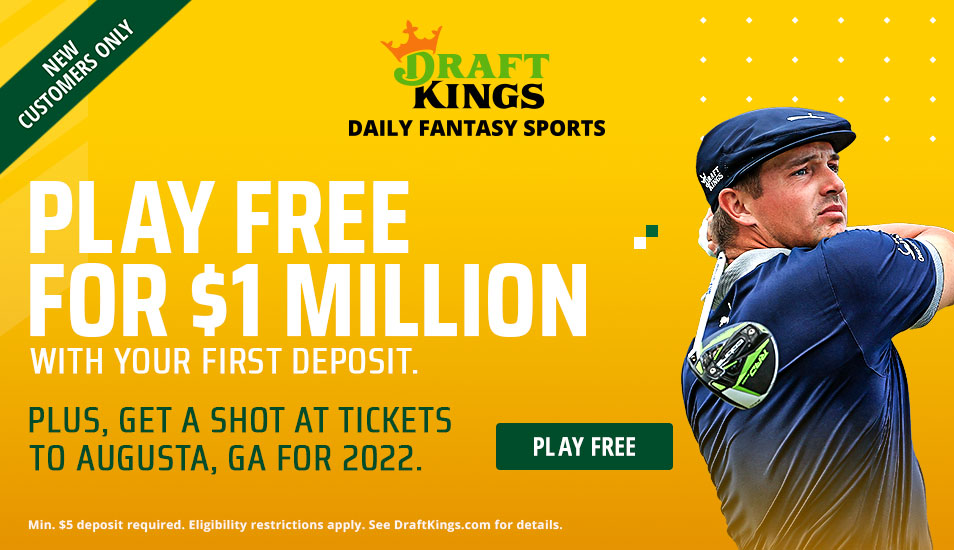 the masters draftkings